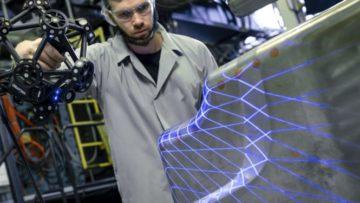 Nouveau scanner 3D pour les applications de contrôle qualité dans l'atelier