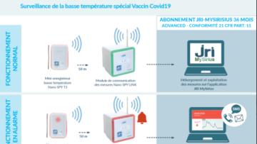 Covid-19 : une solution clé en mains pour surveiller le stockage du vaccin