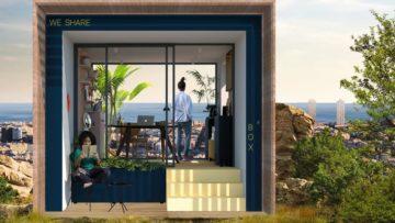 4 surprenants bureaux futuristes imaginés par des jeunes