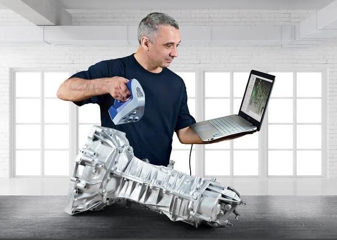 Les quatre tendances de l'industrie du scan 3D pour 2021