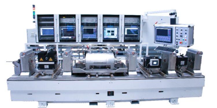 Courants de foucault et ultrasons sur des bancs d'inspection