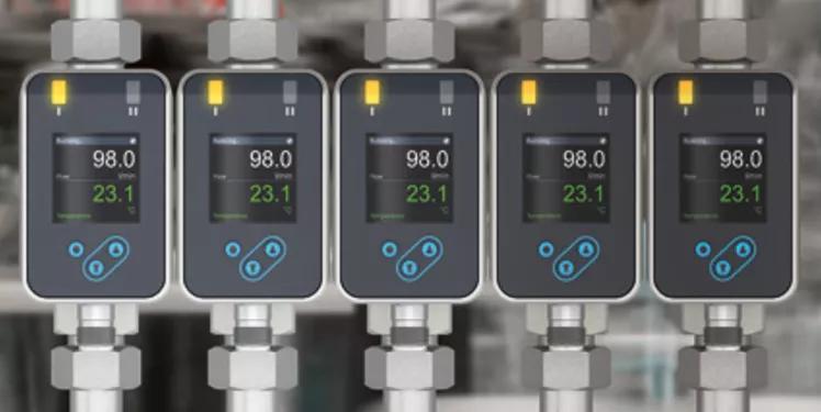 Nouveau débitmètre ultra-compact pour l'automatisation industrielle