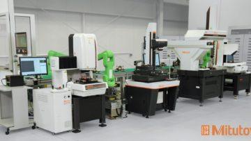 Une cellule de mesure robotisée pour l'Industrie